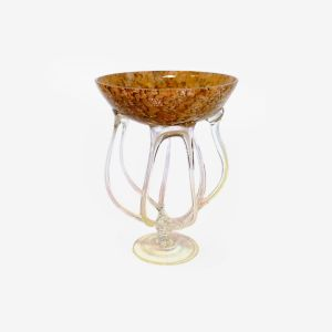 Jozefina 01033400.52J 15-inch Height Jelly Glass Vase, EA