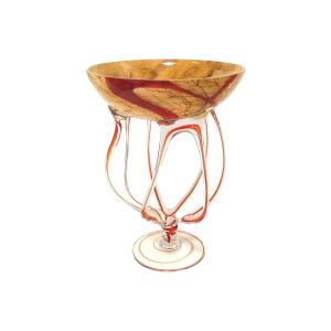 Jozefina 01033400.R71 15-inch Height Jelly Glass Vase, EA
