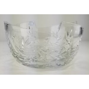 Neman 10026/2 7.5-inch Crystal Serving Bowl, EA