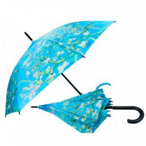 Carmani CR-021-6805 40x33-inch Almond Blossom Van Gogh Walking-Stick Umbrella, EA