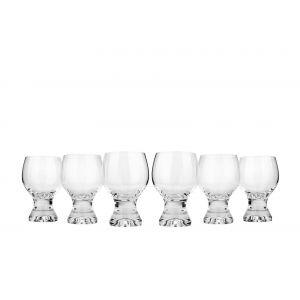 Crystalex 340101-01A 11 Oz Gina Brandy Glass, 6/SET