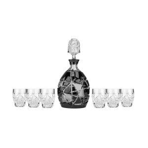 Aurum Crystal AU26358 1+6 Mars Liquor Set