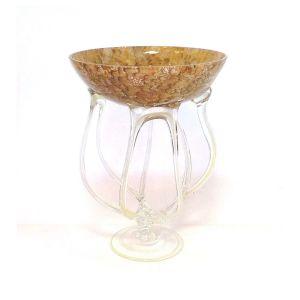 Jozefina 01033400.52J 15-inch Height Jelly Glass Vase, EA