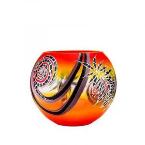 Victoria Bella 6429/220/A 7'' Height Glass Vase ''Africa''