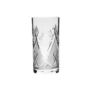 Neman Crystal 13 Oz. Lead Crystal Coctail High Glass. Set of 6