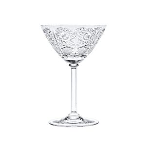 Neman Crystal 8560-M-X 6 Oz. Lead Crystal Martini Glass