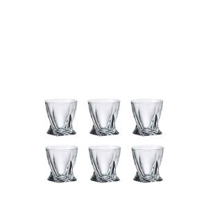 Crystalite A44/050 1.7 Oz. Lead Free Crystal Tequila Shot. Set of 6