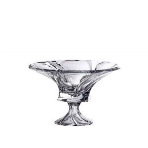Aurum Crystal AU51778 12-inch Diameter Mozart Footed Bowl, EA