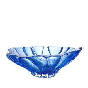 Aurum Crystal AU52045 13-inch Plantica Sprayed Blue Bowl, EA