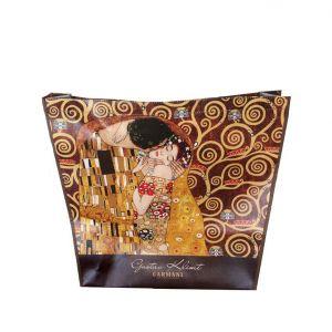 Carmani CR-021-9000 Adela and Kiss Gustave Klimt Shoulder Bag, EA
