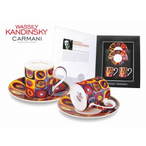 Carmani CR-046-0101 4 Oz W. Kandinsky Cup and Saucer, EA