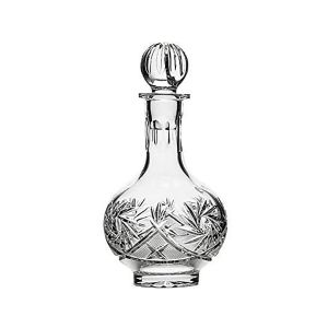 Neman Crystal D4184-X 16 Oz. Lead Crystal Decanter ''Crystal''