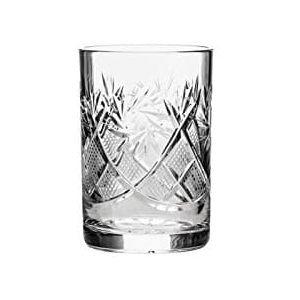 Neman Crystal 3.4 Oz. Lead Crystal Tumbler Glass. Set of 6