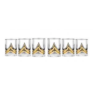 Triumph 2-Ounce Shot Glasses, Set of 6