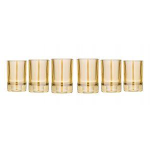Honey 1.5-Ounce Shot Glasses, Set of 6