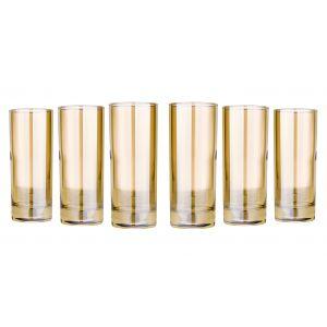 Honey 11-Ounce Highball Glasses, Set of 6