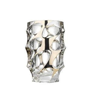 Bohemia JS14071 10'' Height Lead Free Crystal Calypso Vase