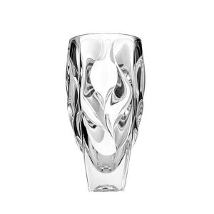 Bohemia JS30996 12'' Height Lead Free Crystal Bamboo Vase