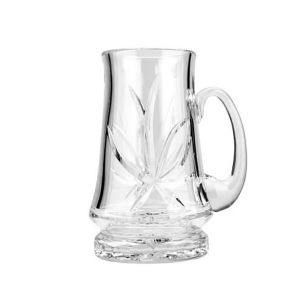 Neman Crystal M6511/9-X 22 Oz. Lead Free Crystal Beer Mug
