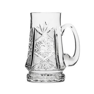 Neman Crystal M6511-X 22 Oz. Lead Free Crystal Beer Mug