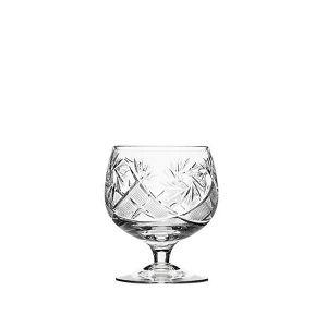 Neman Crystal 7 Oz. Lead Crystal Brandy Glass. Set of 6