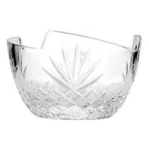 Neman Crystal V10026-X 5'' Dia Lead Free Crystal Tableware Candy Bowl