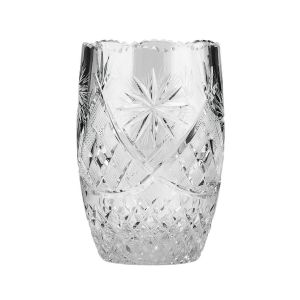 Neman Crystal V3918/4-X 6.4'' Height Lead Crystal Flower Vase