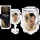 Carmani CR-841-3501, 21.5 Oz Wine Glasses, Gustav Klimts