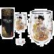 Carmani CR-841-3505, 21.5 Oz Wine Glasses, Gustav Klimts